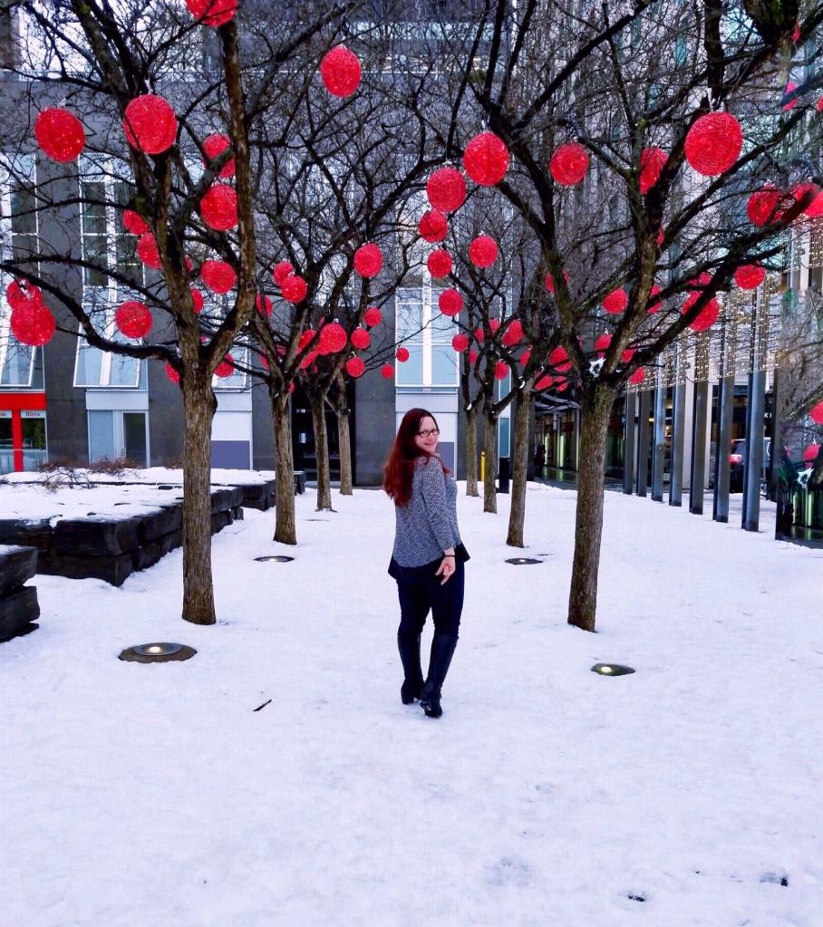 Cheri Shares in Yorkville, Ontario